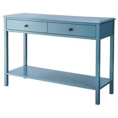 Windham Console Table - Teal - Target