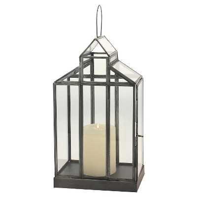 Glass Barn Terrarium Container - Target