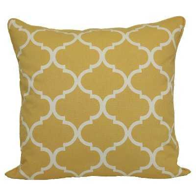Threshold™ Oversized Lattice Pillow - insert included - Target