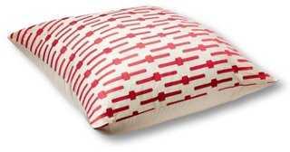 Geo 36x36 Floor Pillow, Pink - One Kings Lane