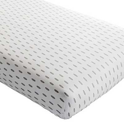 Feather Iconic Crib Fitted Sheet - Land of Nod