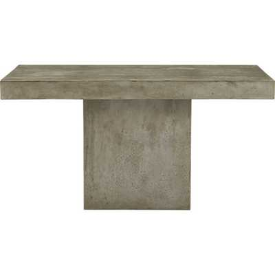 fuze grey dining table - CB2