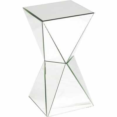 Artessa Mirrored Side Table - High Fashion Home