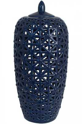 NEELAM PIERCED JAR - Large - Home Decorators