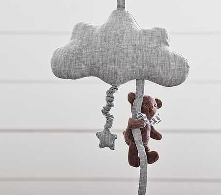 Gray Cloud Pull Music Mobile - Pottery Barn Kids
