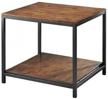 Industrial Mansard End Table - Home Decorators