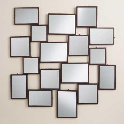 Black Gallery Mirror Panel - World Market/Cost Plus