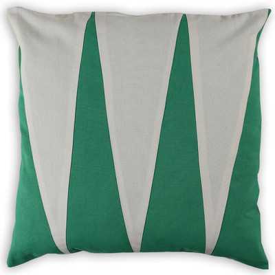 Combourg Linen/Cotton Throw Pillowby Vanderbloom - Wayfair