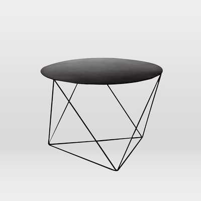 Eric Trine Octahedron Side Table-Black - West Elm