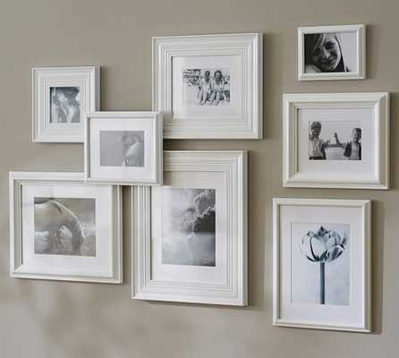 GALLERY IN A BOX- ELIZA FRAMES - WHITE - Pottery Barn