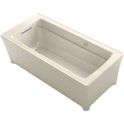 Archer 5.5 ft. Reversible Drain Soaking Tub in White - Home Depot