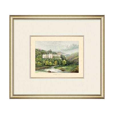 Arundel Castle Wall Art - 16x14 - Framed - Frontgate