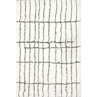 Handmade Moroccan Shag Rug (8' x 10') - Overstock