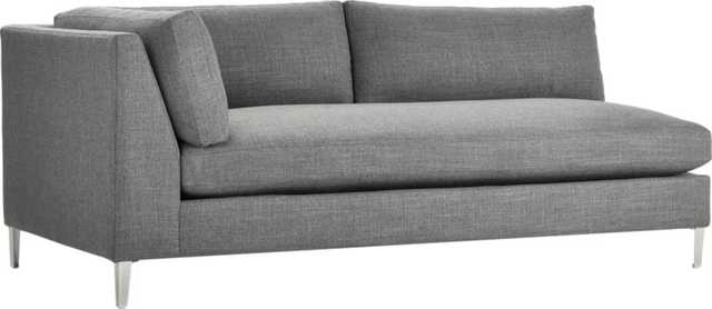 decker left arm sofa - CB2