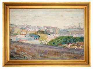 "Henry Ossawa Tanner, A View of Fez-17'25X13'25""-Framed - One Kings Lane"