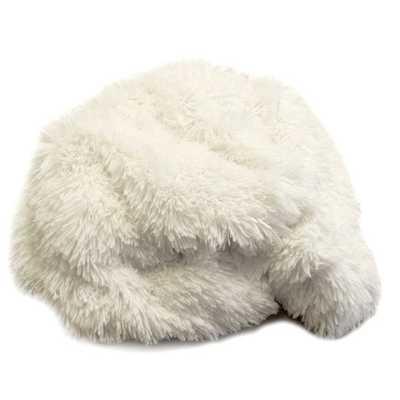 Luxury Faux Fur Throw -  White Alpaca - AllModern