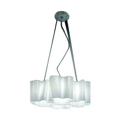 Logico 4 Light Quadruple Nested Suspension with Incandescent Bulbs by Artemide - AllModern