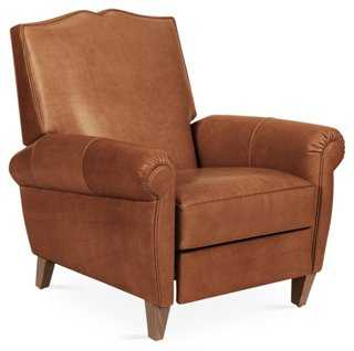 French Club Recliner - One Kings Lane