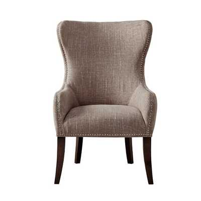 Hancock Button Tufted Wingback Chair - AllModern