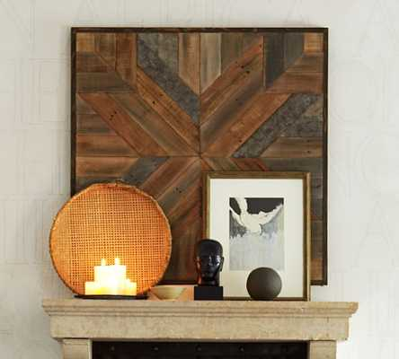 Planked Quilt Square - Pottery Barn