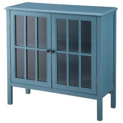 "Windham Storage Cabinet Teal - Thresholdâ""¢ - Target"