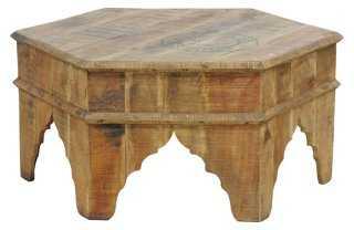 Marrakech Coffee Table, Reclaimed Wood - One Kings Lane