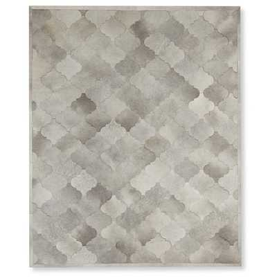 Pieced Gate Hide Rug - Williams Sonoma