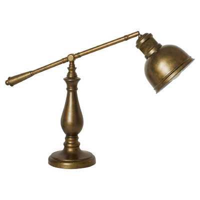 "Marabia 20"" Table Lamp with Bowl Shade - Wayfair"