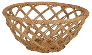 "11"" Beachgrass Woven Basket - One Kings Lane"