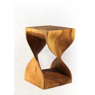 Twist End Table - Wayfair