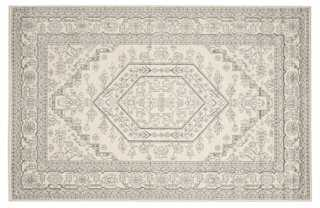 Forester Rug, Ivory/Silver - 6'x9' - One Kings Lane