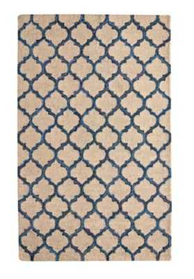 Tangiers Rug - 5' x 8' - Blue - thecompanystore.com
