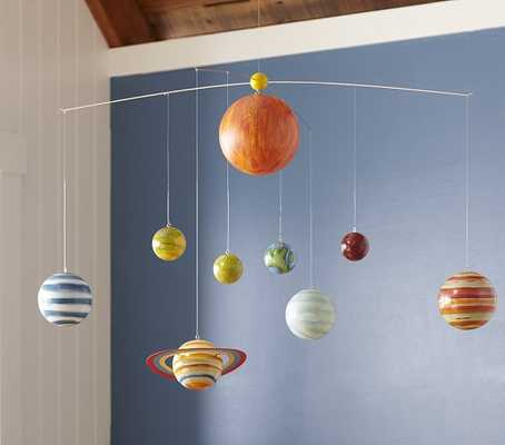 Planet Ceiling Mobile - Pottery Barn Kids