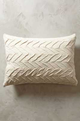 Textured Euro SHam - Anthropologie