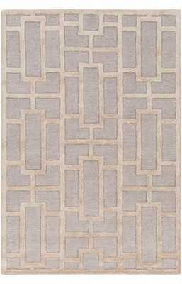 Artistic Weavers Arise Addison Rug - LIGHT BLUE BEIGE, 6x9 - Rugs USA
