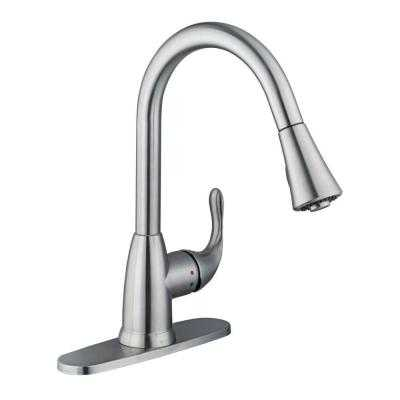 Market Single-Handle Pull-Down Sprayer Kitchen Faucet - Home Depot