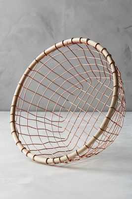 Brushed Wire Storage Basket - Anthropologie