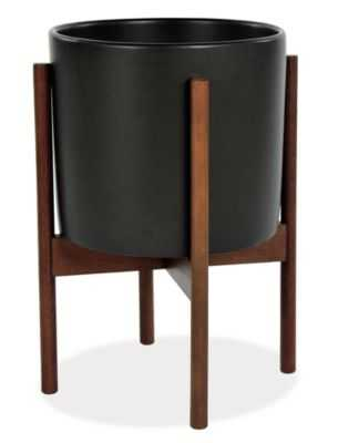 Case Study Planter - Large, Black - Room & Board