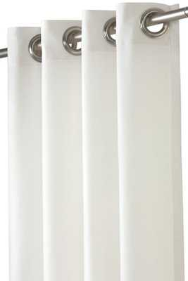 SHEER OUTDOOR CURTAIN PANEL - Home Decorators