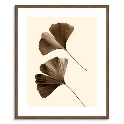 "Offset for West Elm Print, Ginkgo Leaves II - 20""w x 24""h - Framed - West Elm"