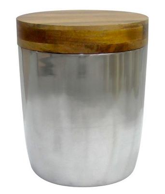 Threshold Silver Storage Drum Accent Table - Domino