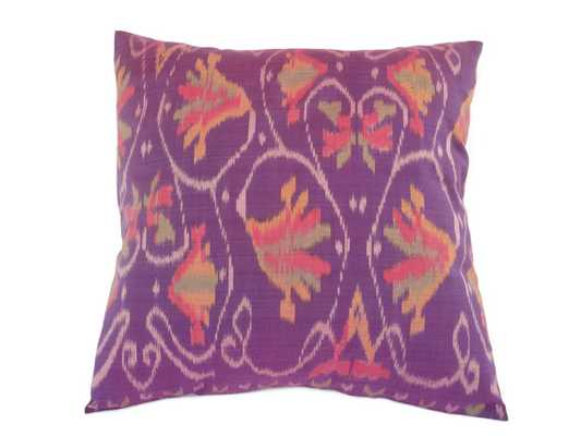 Indonesian Ikat, Pillow - insert not included - Etsy