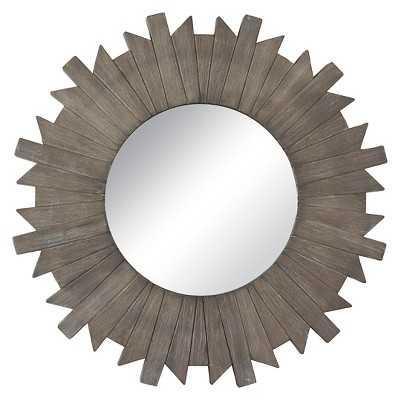 "Thresholdâ""¢ Starburst Reclaimed Mirror - Grey 28"" - Target"