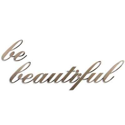 Be Beautiful Wall Décorby Letter2Word - Wayfair