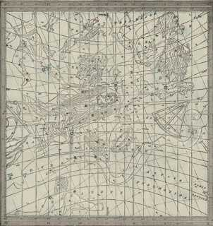 Astrological Star Map No. 3, C. 1900 - One Kings Lane