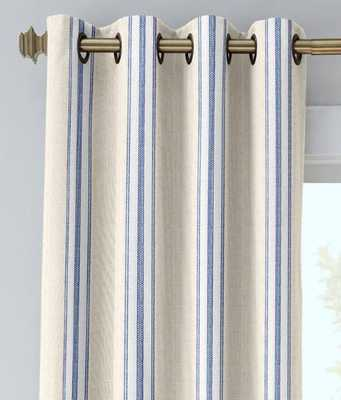 FRENCH TICKING GROMMET-TOP CURTAINS - countrycurtains.com
