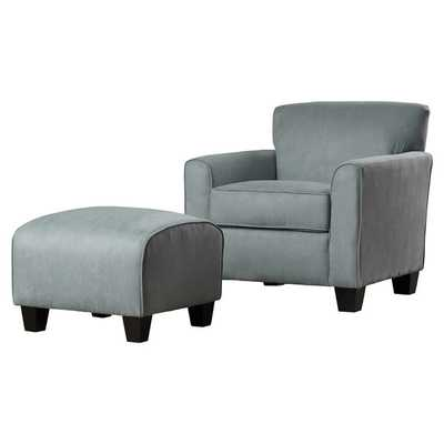 Phyllis Arm Chair & Ottoman Set - Wayfair