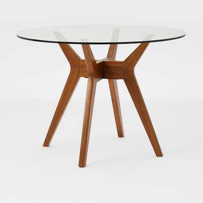 Jensen Round Glass Dining Table - West Elm