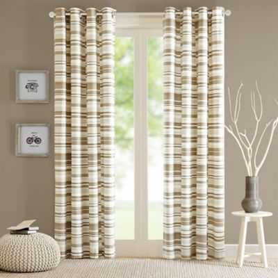 Intelligent Design Sadie Grommet Top Window Curtain Panel - Bed Bath & Beyond
