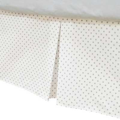 TL Care Cotton Tailored Crib Skirt - Target